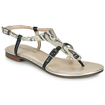 Pantofi Femei Sandale  JB Martin 2GAELIA Negru / Bej