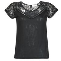 Îmbracaminte Femei Tricouri mânecă scurtă Deeluxe CLEA Negru