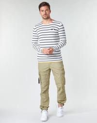 Îmbracaminte Bărbați Pantaloni Cargo Deeluxe TROPERY Kaki