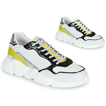 Pantofi Femei Pantofi sport Casual Serafini OREGON Alb / Negru / Galben