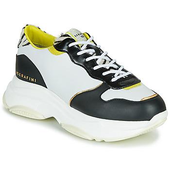 Pantofi Femei Pantofi sport Casual Serafini BROOKLYN Alb / Negru