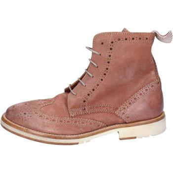 Pantofi Femei Ghete Moma stivaletti camoscio Rosa