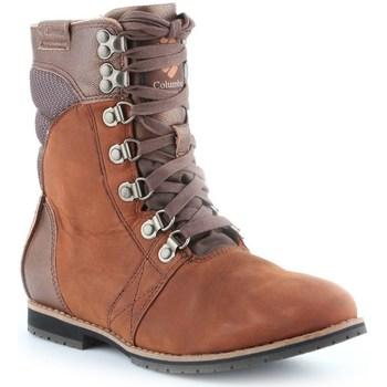 Pantofi Femei Ghete Columbia Twentythird Ave WP Mid Cafenii
