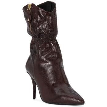Pantofi Femei Cizme casual Elvio Zanon COBRINO PRUGNA Rosso