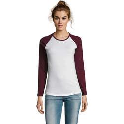 Îmbracaminte Femei Tricouri cu mânecă lungă  Sols MILKY LSL SPORT Multicolor