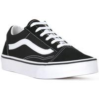 Pantofi Bărbați Pantofi sport Casual Vans OLD SKOOL VELCRO Nero