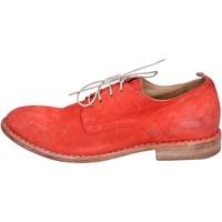 Pantofi Femei Pantofi Derby Moma classiche camoscio Rosso
