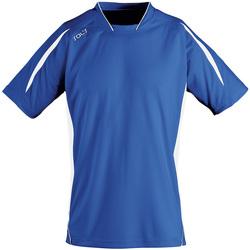 Îmbracaminte Bărbați Tricouri mânecă scurtă Sols MARACANA 2 SSL SPORT Azul