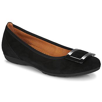 Pantofi Femei Balerin și Balerini cu curea Gabor  Negru