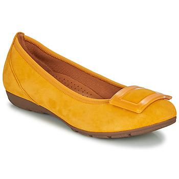 Pantofi Femei Balerin și Balerini cu curea Gabor  Galben