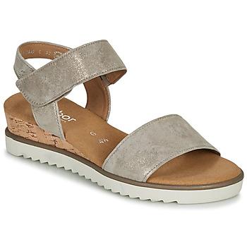 Pantofi Femei Sandale  Gabor KARIBITOU Auriu