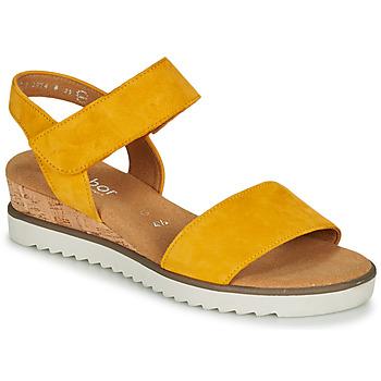 Pantofi Femei Sandale  Gabor KARIBITOU Galben