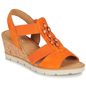 Pantofi Femei Sandale  Gabor KALINA Portocaliu