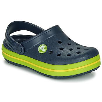 Pantofi Copii Saboti Crocs CROCBAND CLOG K Albastru / Verde