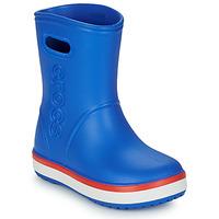 Pantofi Copii Cizme de cauciuc Crocs CROCBAND RAIN BOOT K Albastru / Roșu