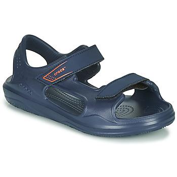 Pantofi Copii Sandale  Crocs SWIFTWATER EXPEDITION SANDAL K Albastru