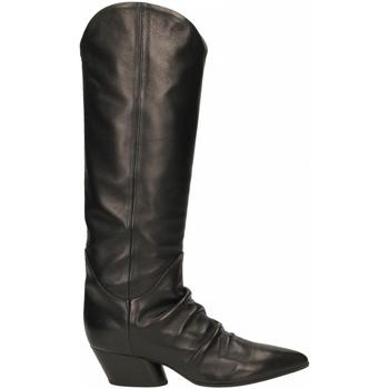 Pantofi Femei Cizme casual Halmanera BARON nero