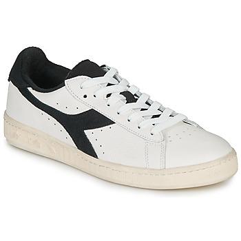 Pantofi Pantofi sport Casual Diadora GAME L LOW USED Alb / Negru