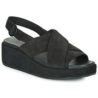 Pantofi Femei Sandale și Sandale cu talpă  joasă Camper MISIA Negru