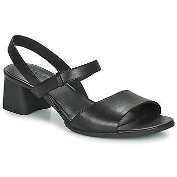 Pantofi Femei Sandale și Sandale cu talpă  joasă Camper KATIE SANDALES Negru