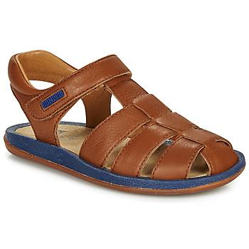 Pantofi Copii Sandale  Camper BICHO Maro / Albastru