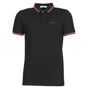 Îmbracaminte Bărbați Tricou Polo mânecă scurtă Ben Sherman SIGNATURE POLO Negru / Roșu / Alb