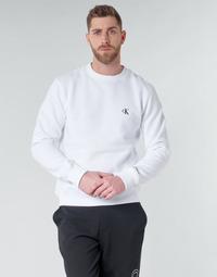Îmbracaminte Bărbați Hanorace  Calvin Klein Jeans CK ESSENTIAL REG CN Alb