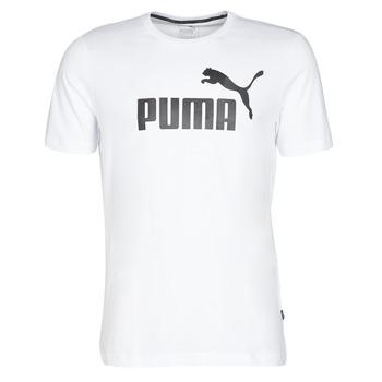 Îmbracaminte Bărbați Tricouri mânecă scurtă Puma ESSENTIAL TEE Alb