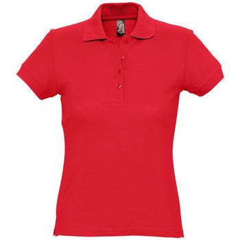 Îmbracaminte Femei Tricou Polo mânecă scurtă Sols PASSION WOMEN COLORS Rojo