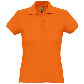 Îmbracaminte Femei Tricou Polo mânecă scurtă Sols PASSION WOMEN COLORS Naranja