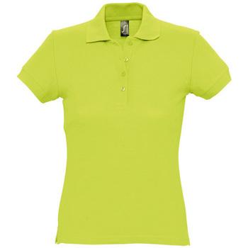 Îmbracaminte Femei Tricou Polo mânecă scurtă Sols PASSION WOMEN COLORS Verde