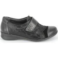 Pantofi Pantofi Oxford  Boissy Derby 7510 Noir Texturé Negru