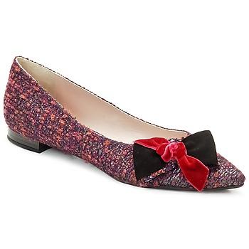 Pantofi Femei Balerin și Balerini cu curea Magrit Rosy Knot  multicolor / Roz