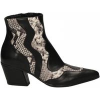 Pantofi Femei Pantofi cu toc Mivida VITELLO nero