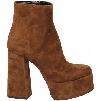 Pantofi Femei Pantofi cu toc Mivida CAMOSCIO sigaro