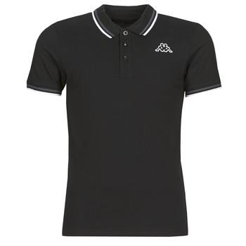 Îmbracaminte Bărbați Tricou Polo mânecă scurtă Kappa ESMO Negru