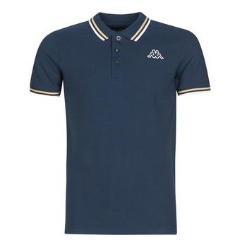 Îmbracaminte Bărbați Tricou Polo mânecă scurtă Kappa ESMO Albastru