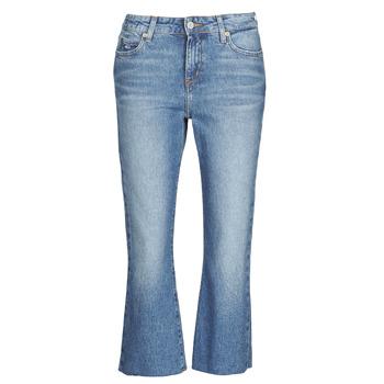 Îmbracaminte Femei Jeans drepti Tommy Jeans KATIE CROP FLARE Albastru / Medium