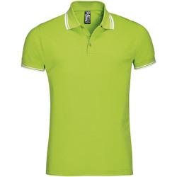 Îmbracaminte Bărbați Tricou Polo mânecă scurtă Sols PASADENA MODERN MEN Verde
