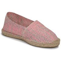 Pantofi Femei Espadrile Pare Gabia VP FLUO Roz / Alb