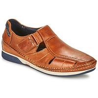 Pantofi Bărbați Sandale  Fluchos JAMES Maro / Bleumarin / Roșu
