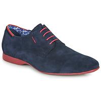Pantofi Bărbați Pantofi Derby Fluchos VESUBIO Bleumarin / Roșu