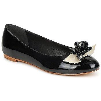 Pantofi Femei Balerin și Balerini cu curea C.Petula MUCHACHA Negru