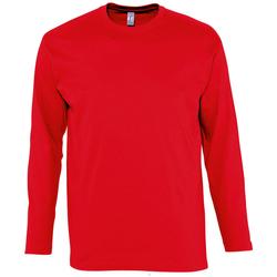Îmbracaminte Bărbați Tricouri cu mânecă lungă  Sols MONARCH COLORS MEN Rojo