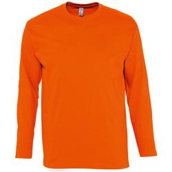Îmbracaminte Bărbați Tricouri cu mânecă lungă  Sols MONARCH COLORS MEN Naranja