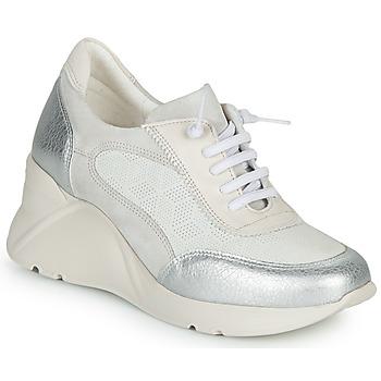 Pantofi Femei Pantofi sport Casual Hispanitas TOKIO Alb / Argintiu