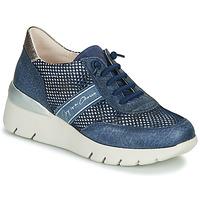 Pantofi Femei Pantofi sport Casual Hispanitas RUTH Albastru / Auriu / Argintiu