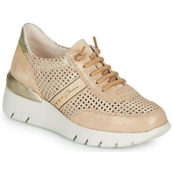 Pantofi Femei Pantofi sport Casual Hispanitas RUTH Roz / Auriu / Alb