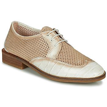 Pantofi Femei Pantofi Derby Hispanitas LONDRES Bej / Alb