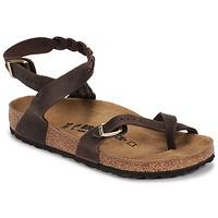 Pantofi Femei Sandale  Birkenstock YARA LEATHER Maro